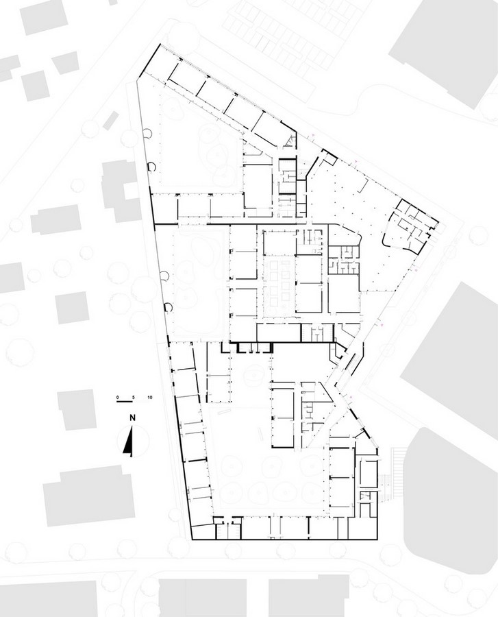 15 Educational Buildings that Architects Should Know About-Groupe Scolaire Pasteur - Sheet4