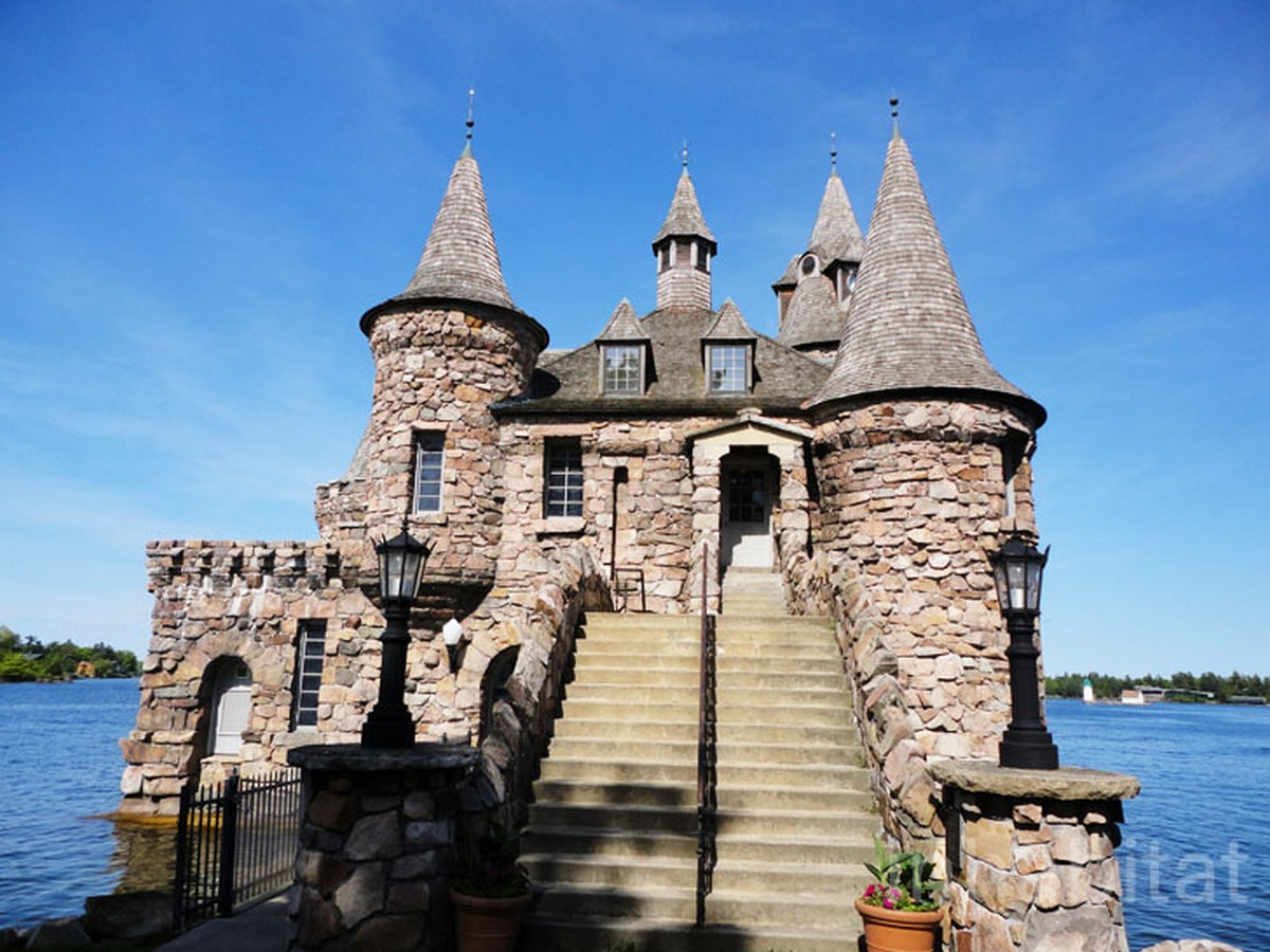BOLDT CASTLE, HEART ISLAND - Sheet2