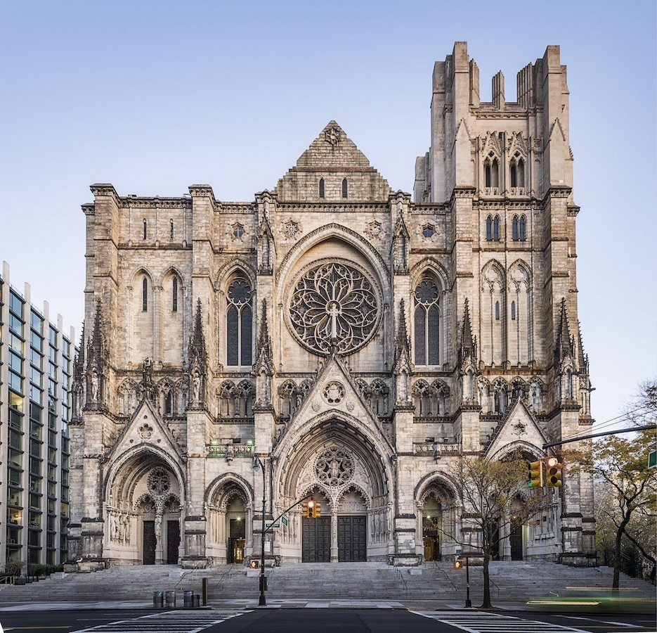 CATHEDRAL OF ST JOHNS THE DIVINE, NEW YORK - Sheet2