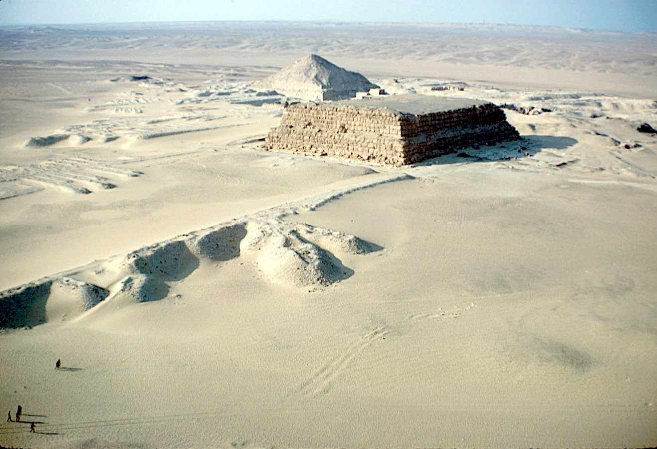 PYRAMID OF NEFEREFRE, ABUSIR - Sheet1