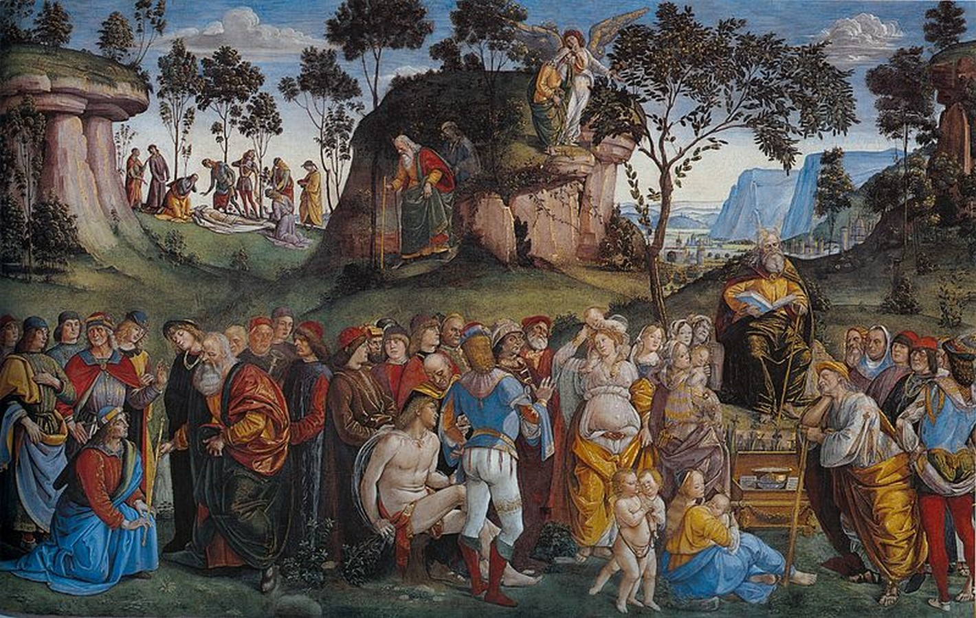 The Sistine Chapel stands on the site of the Cappella Maggiore.- Sheet12
