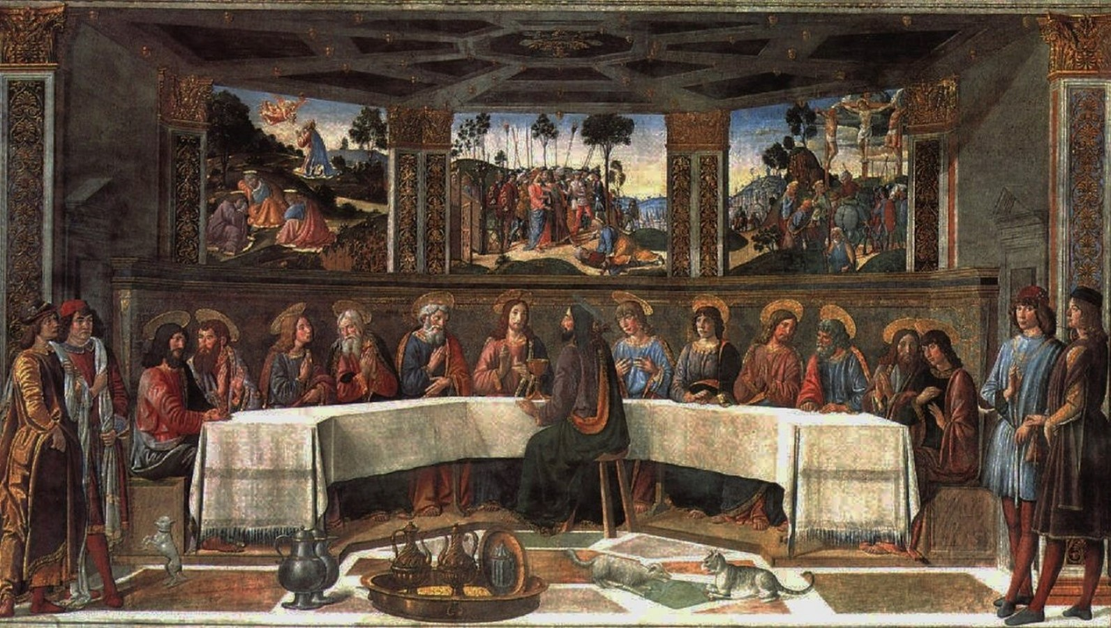 The Sistine Chapel stands on the site of the Cappella Maggiore.- Sheet13
