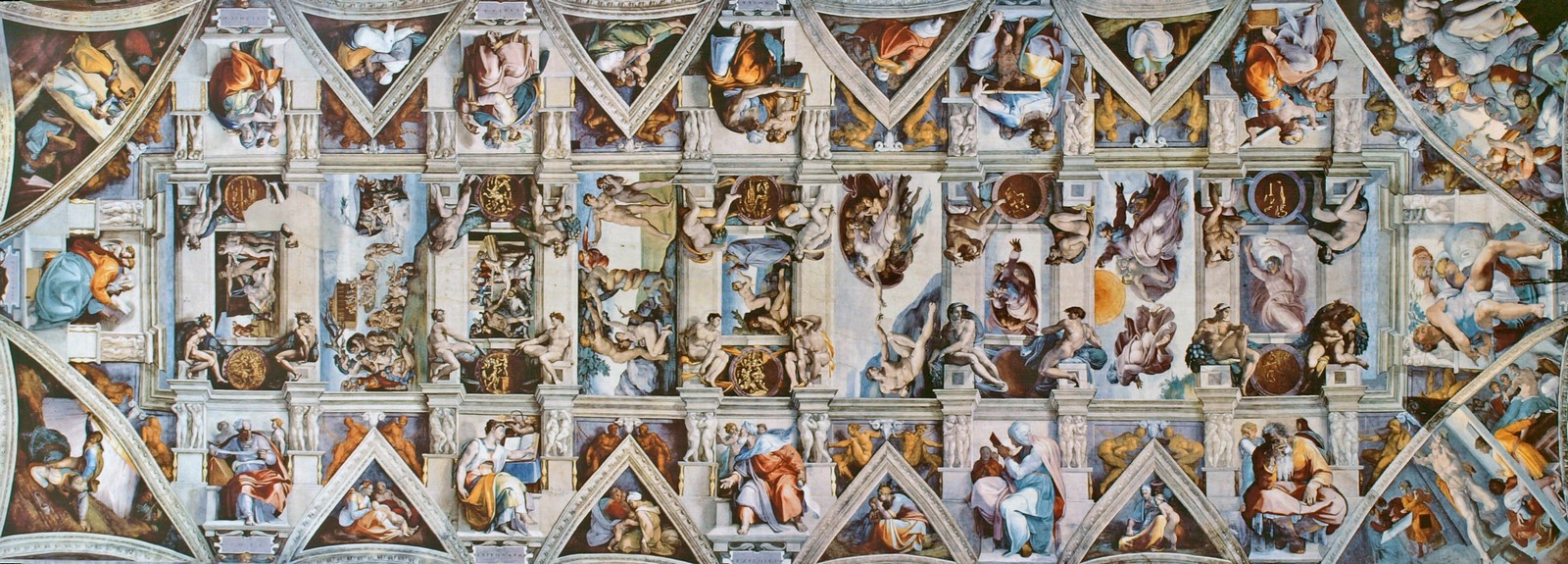 The Sistine Chapel stands on the site of the Cappella Maggiore.- Sheet17