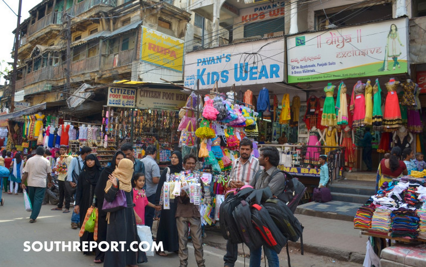 The markets of Koti and Abids - Sheet1