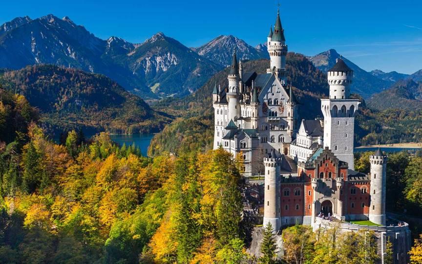 Neuschwanstein Castle, Germany - Sheet1