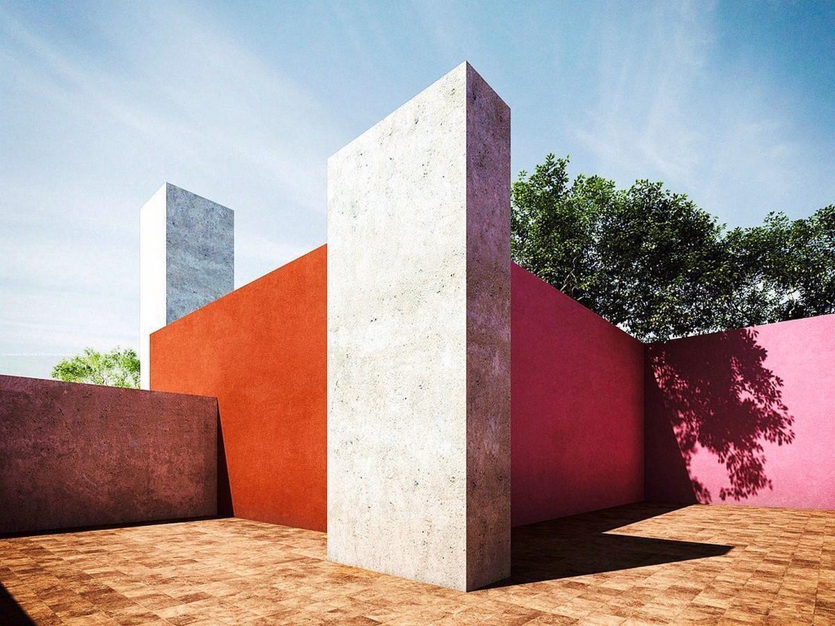 Casa Barragan, Cuerámaro, Mexico | Luis Barragan - Sheet1