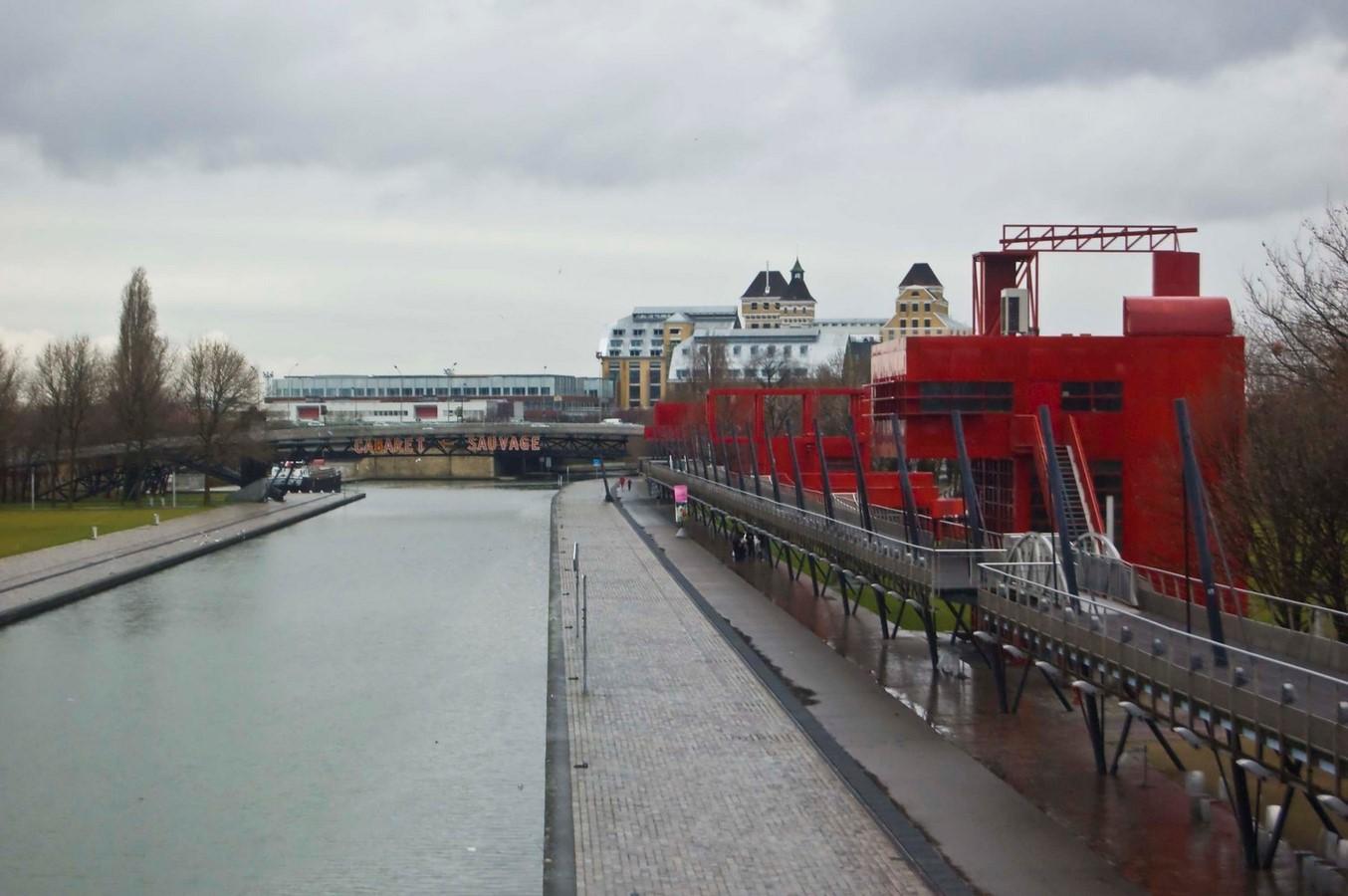Parc de La Villette, Paris, France | Bernard Tschumi - Sheet1