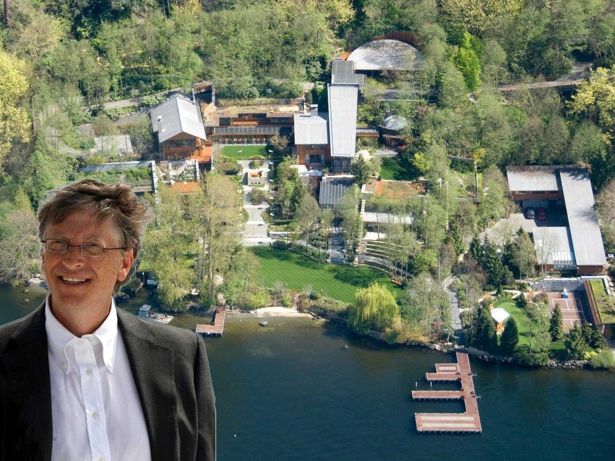 20 Facts about Bill Gates House you should know - Sheet1