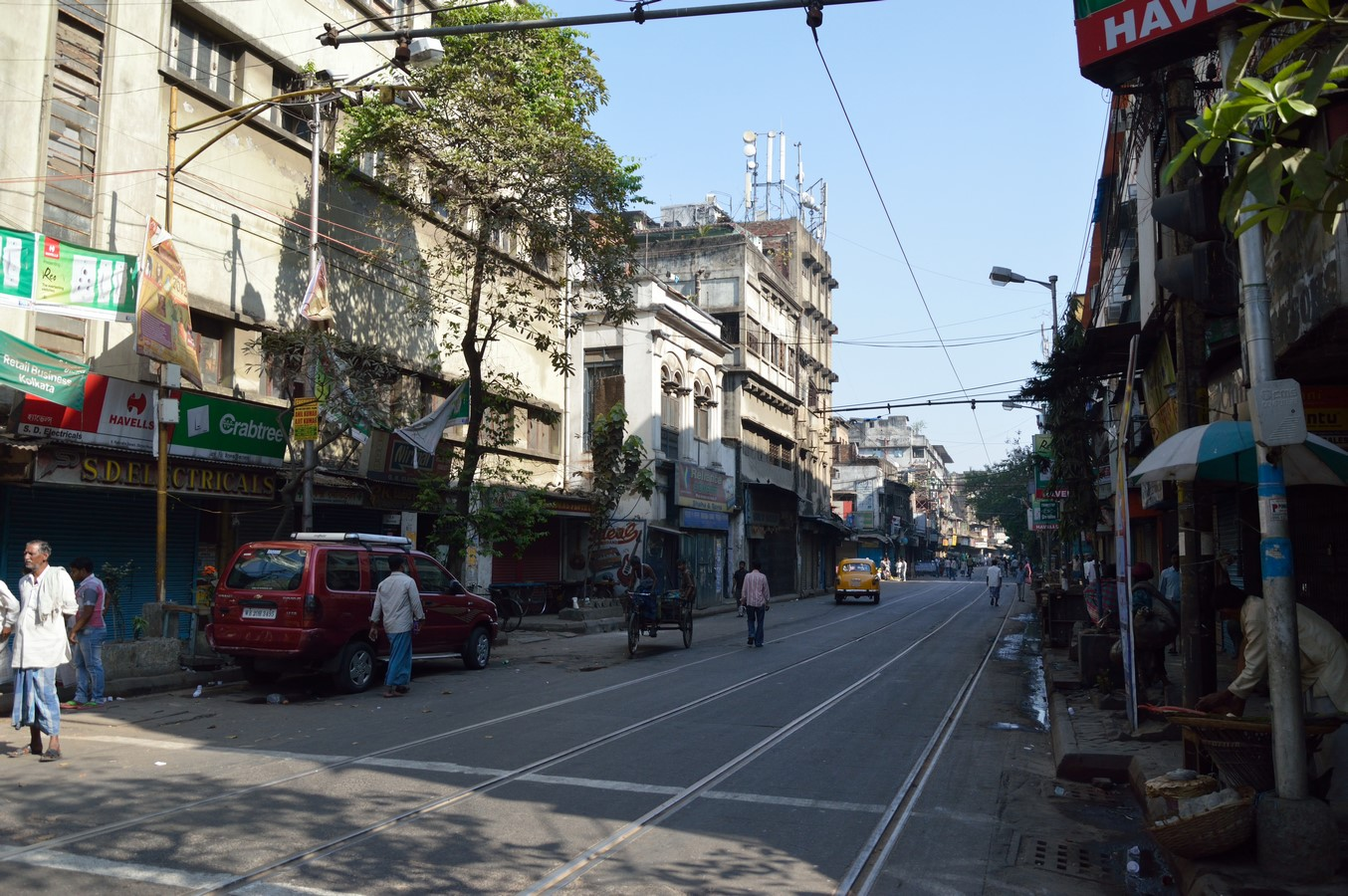 Walking through the streets of Kolkata - A visual description of Street architecture of the city - Sheet7