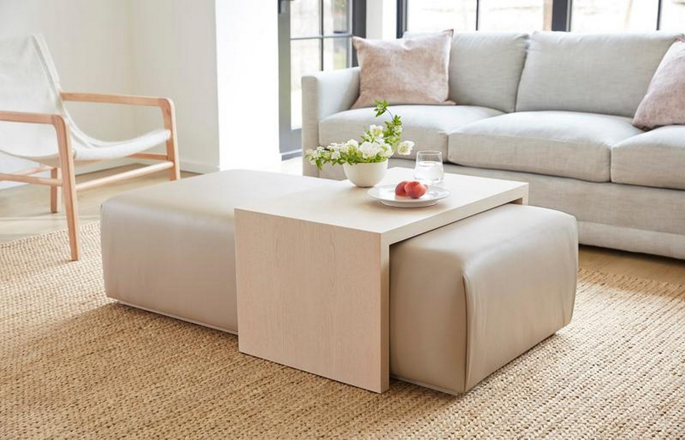 The Bowery Coffee Table Ottoman - Sheet1