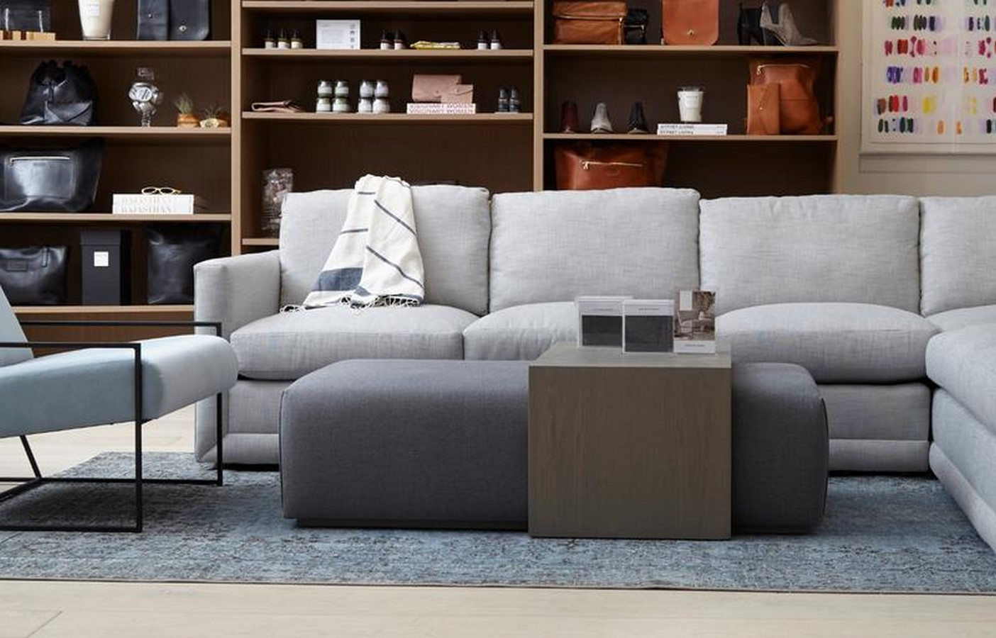 The Bowery Coffee Table Ottoman - Sheet2