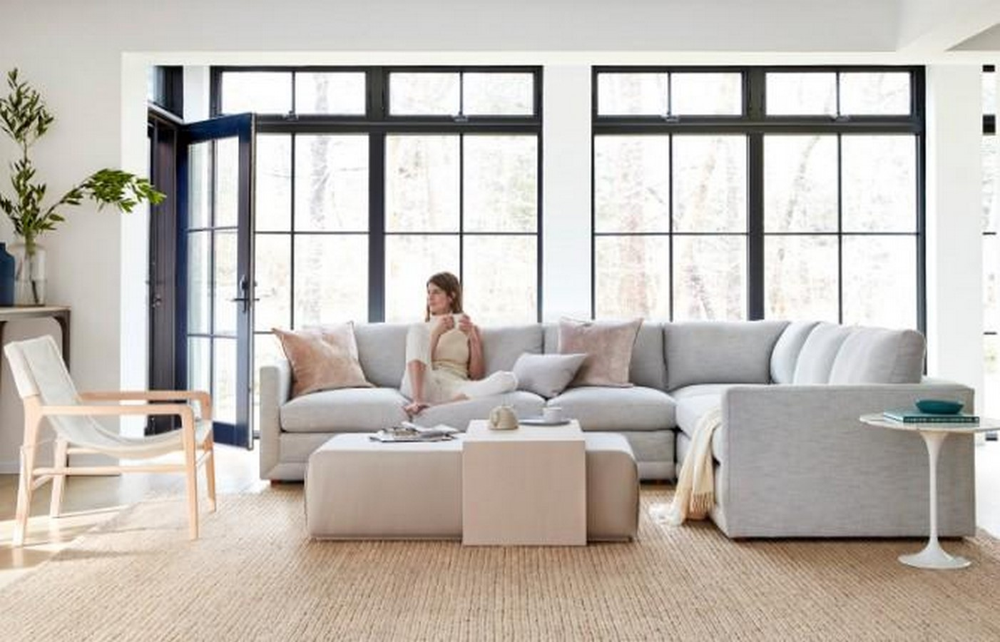 The Bowery Coffee Table Ottoman - Sheet3