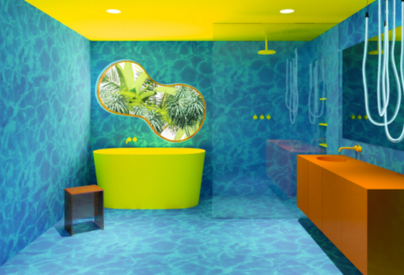 WATER BATHROOM