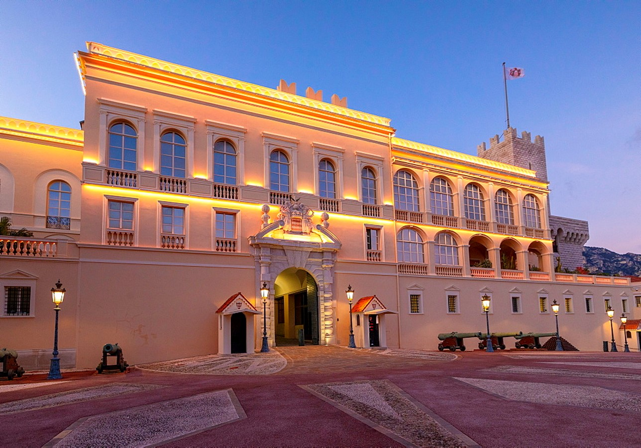The Prince's Palace- The Monte-Carlo of Monaco - Sheet1