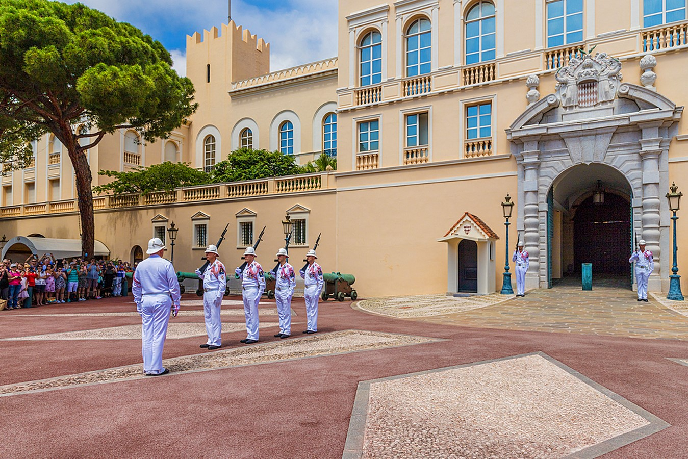 The Prince's Palace- The Monte-Carlo of Monaco - Sheet2