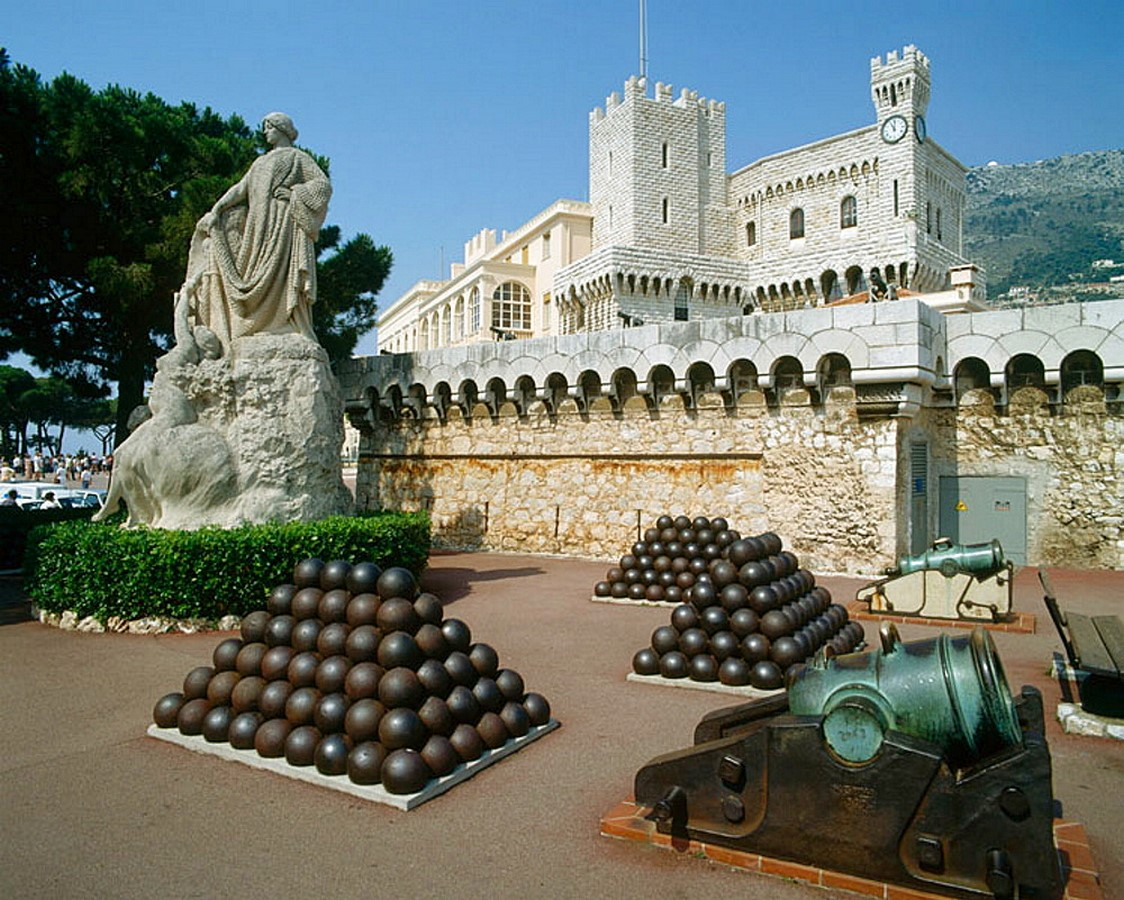 The Prince's Palace- The Monte-Carlo of Monaco - Sheet4