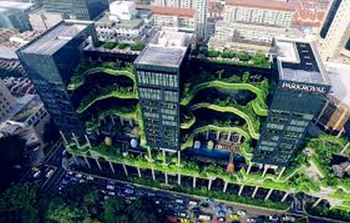 ParkRoyal Hotel Pickering in Singapore by WOHA-Complexity in Architecture - Sheet1