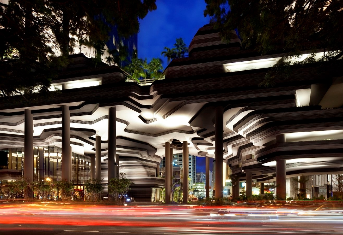 ParkRoyal Hotel Pickering in Singapore by WOHA-Complexity in Architecture - Sheet3
