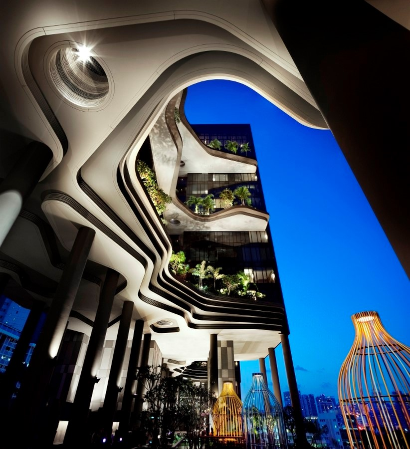 ParkRoyal Hotel Pickering in Singapore by WOHA-Complexity in Architecture - Sheet4