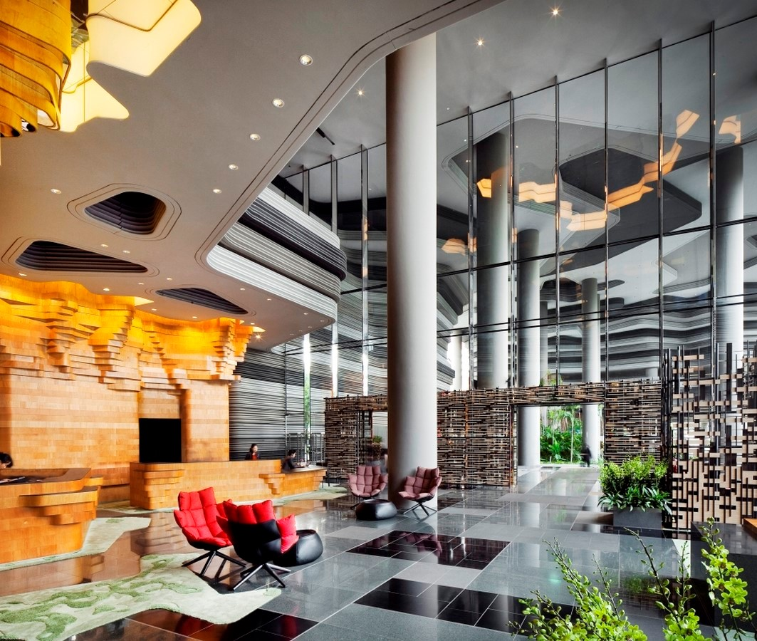 ParkRoyal Hotel Pickering in Singapore by WOHA-Complexity in Architecture - Sheet5