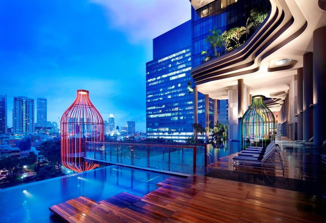 ParkRoyal Hotel Pickering in Singapore by WOHA-Complexity in Architecture - Sheet8