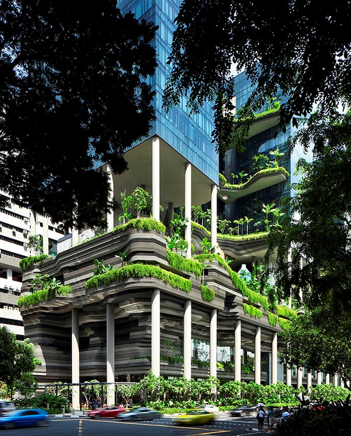 ParkRoyal Hotel Pickering in Singapore by WOHA-Complexity in Architecture - Sheet9