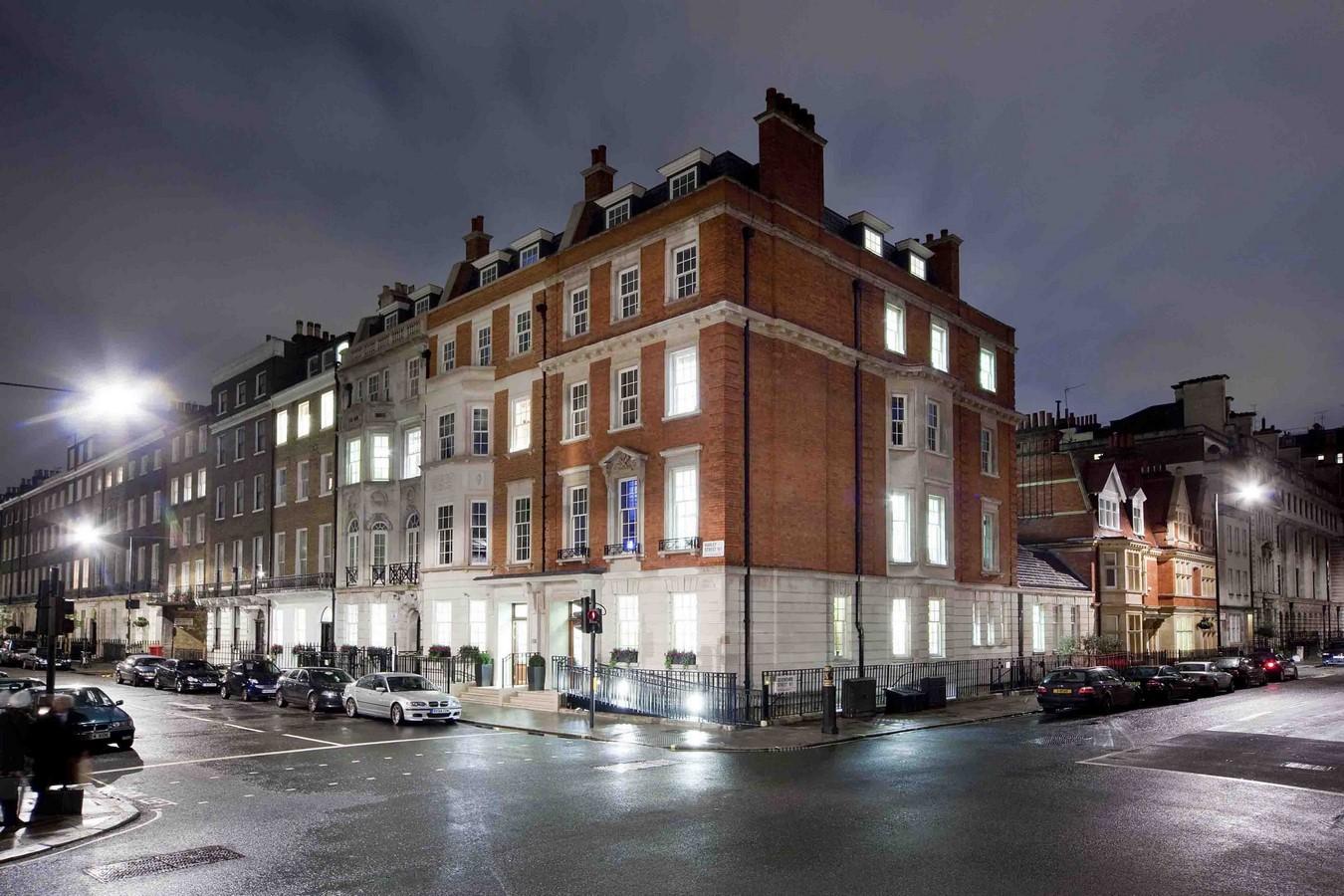 The London Clinic 116 Harley Street - Spinal Injury Clinic & Pathology Lab - Sheet1