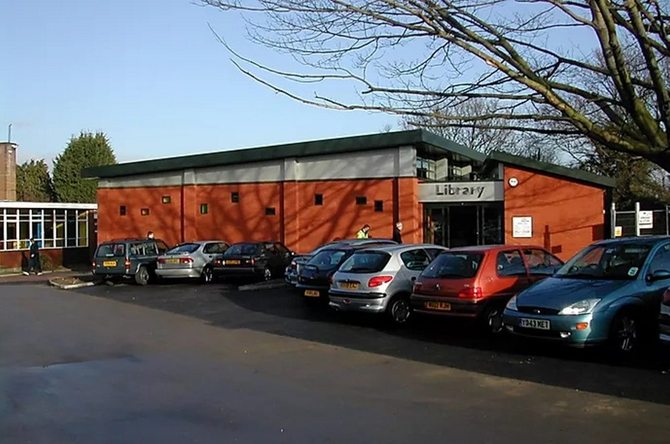 Working District Council Winnersh Library - Sheet1