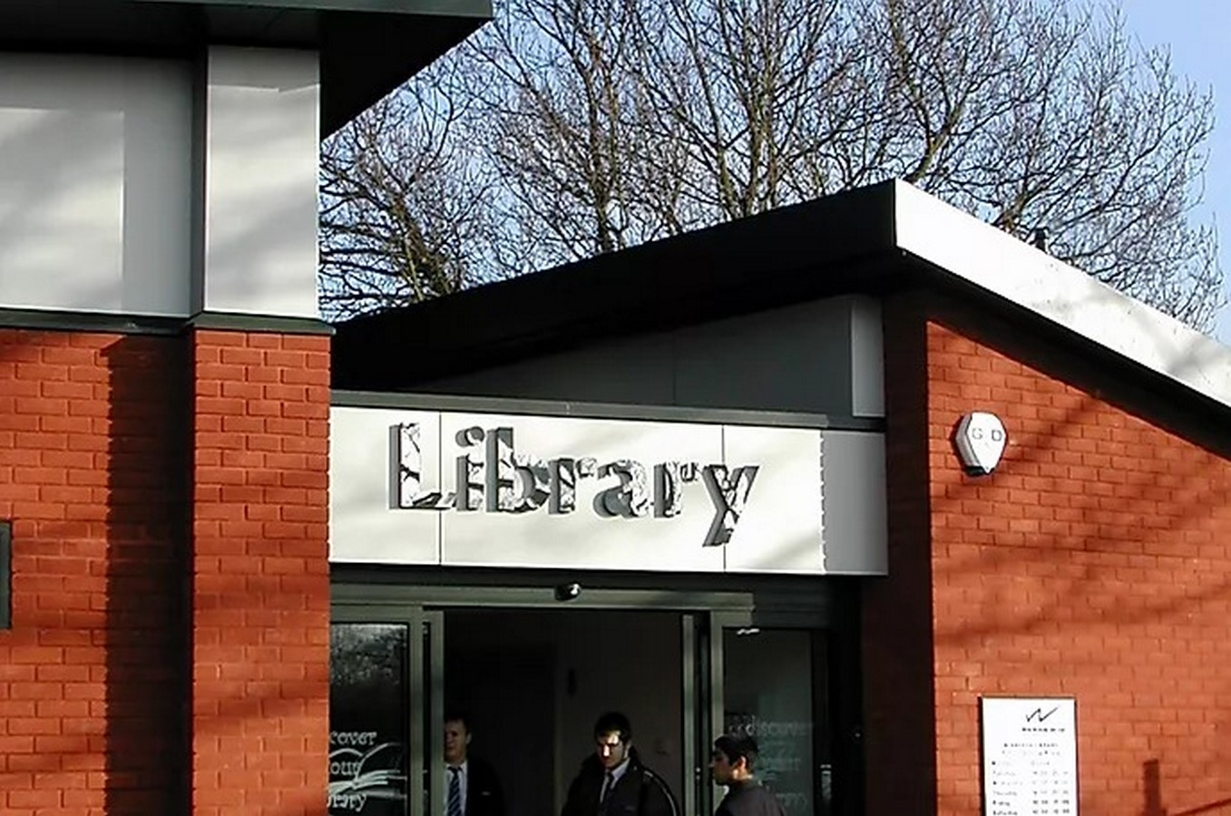 Working District Council Winnersh Library - Sheet2