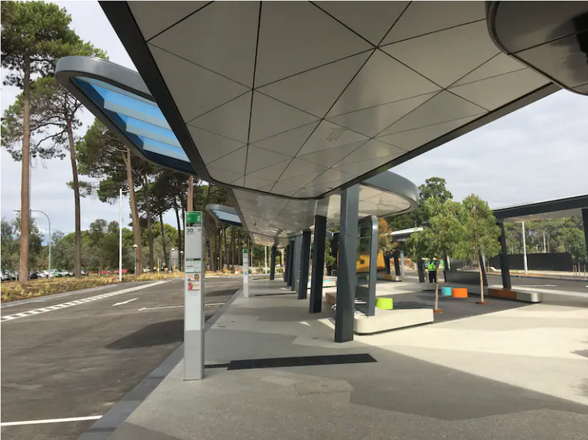 Curtin University Bus Station - Sheet2