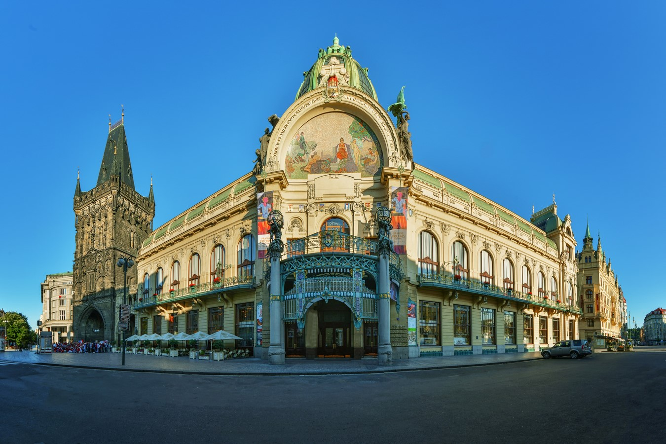 Architectural styles that can be seen in Prague - Sheet29
