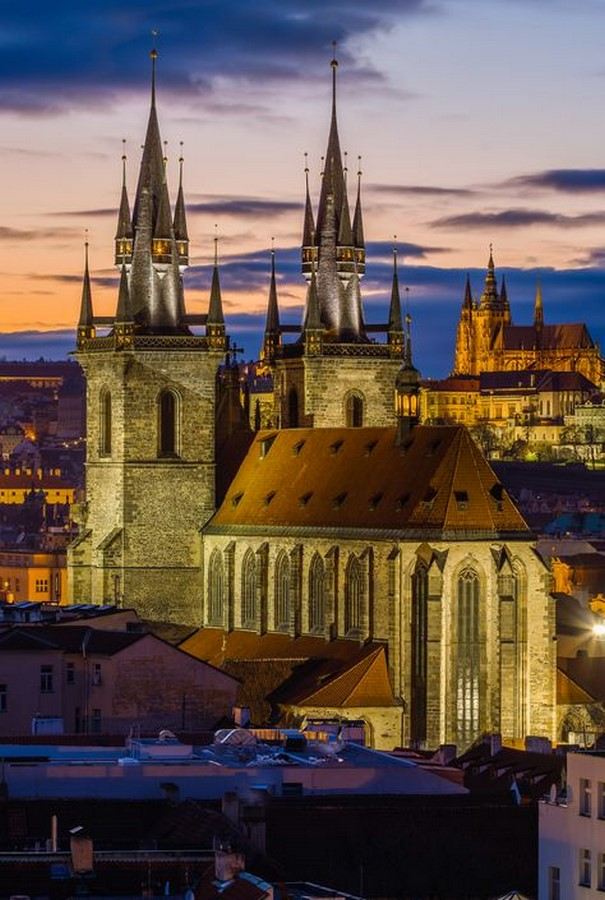Architectural styles that can be seen in Prague - Sheet1