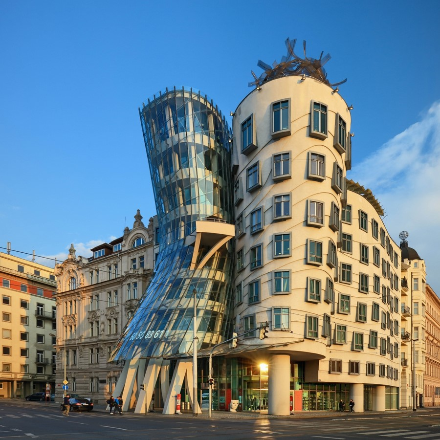Architectural styles that can be seen in Prague - Sheet40
