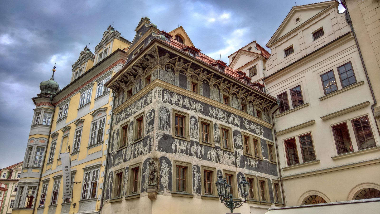 Architectural styles that can be seen in Prague - Sheet8