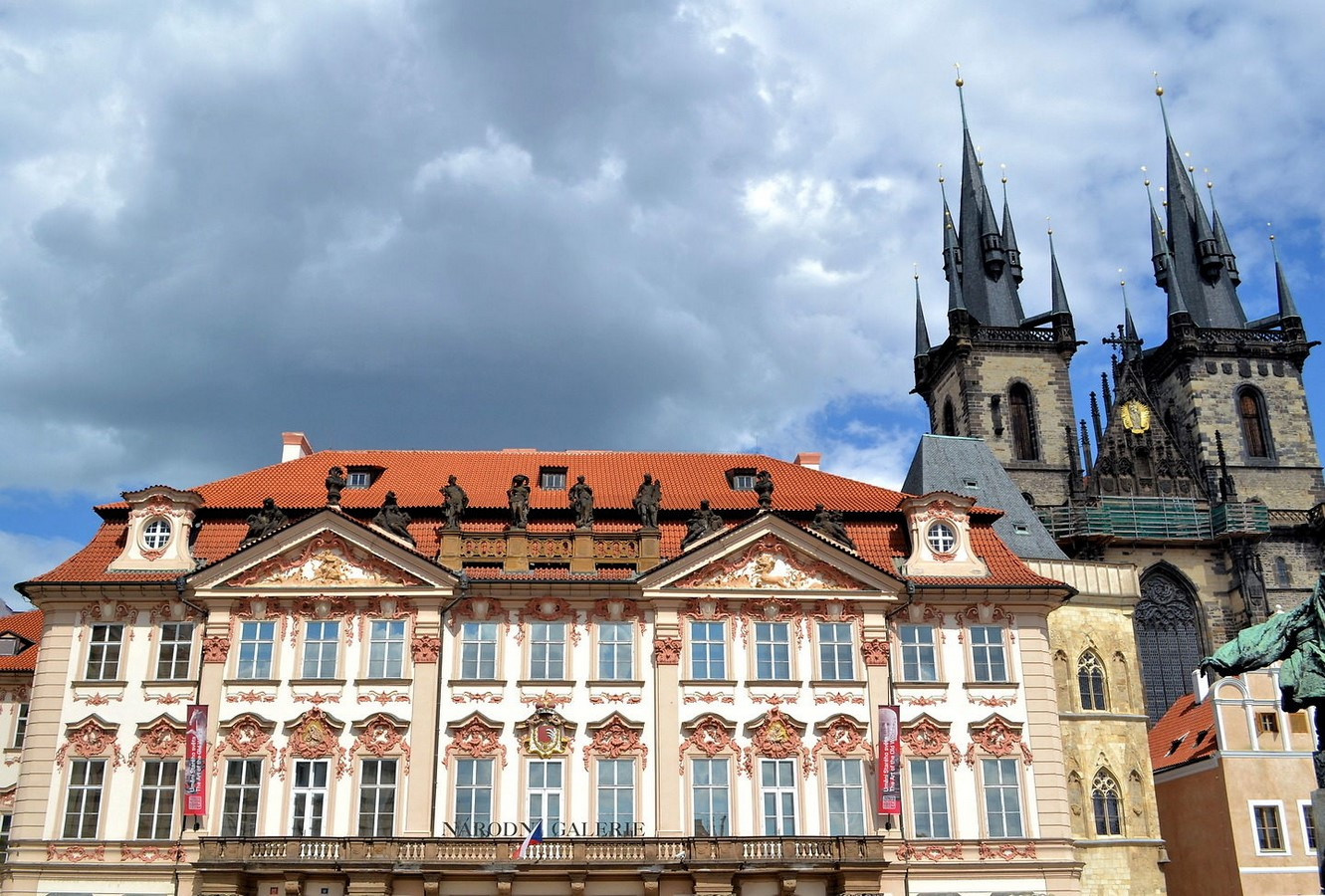 Architectural styles that can be seen in Prague - Sheet20