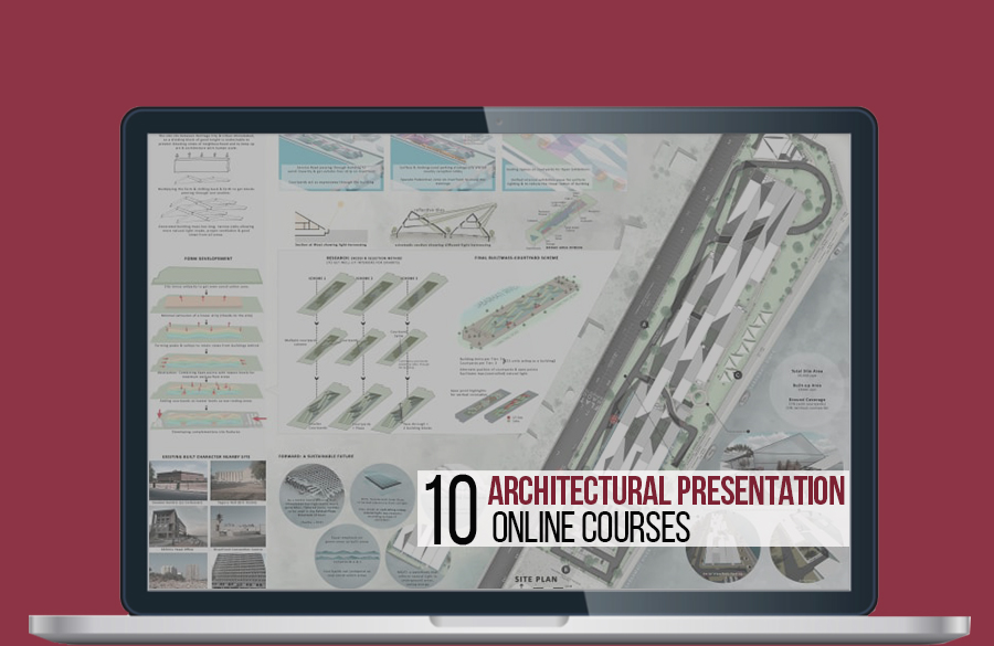 10 Online courses for presentation in architecture