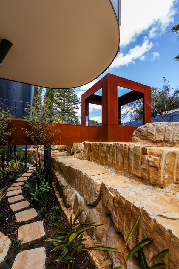 Doongalla Road Residence, Melbourne. - Sheet3