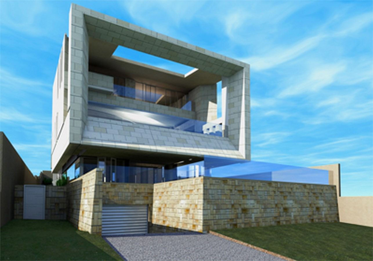 Doongalla Road Residence, Melbourne. - Sheet5