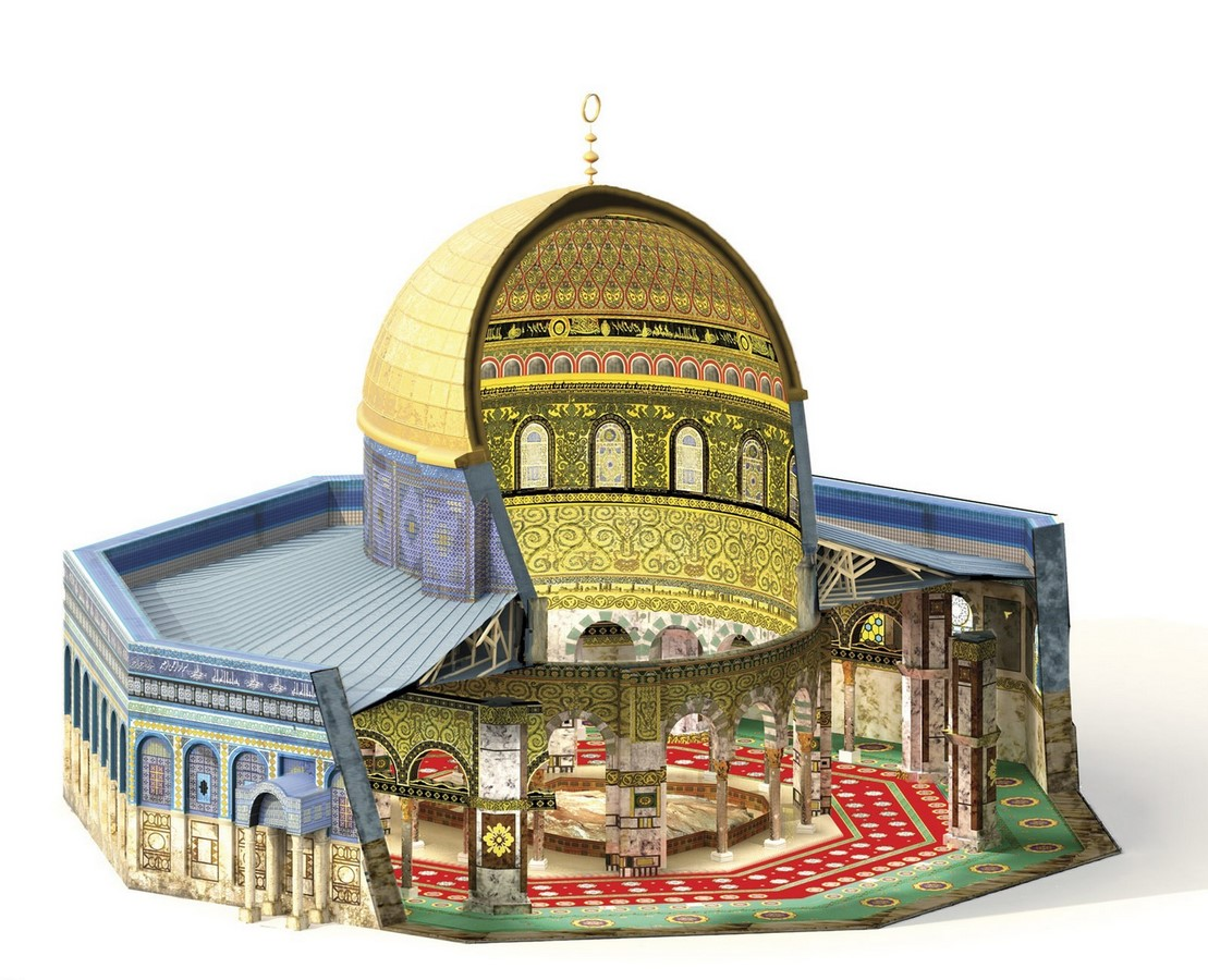 10 Things you did not know about Dome of the Rock. Jerusalem - Sheet13