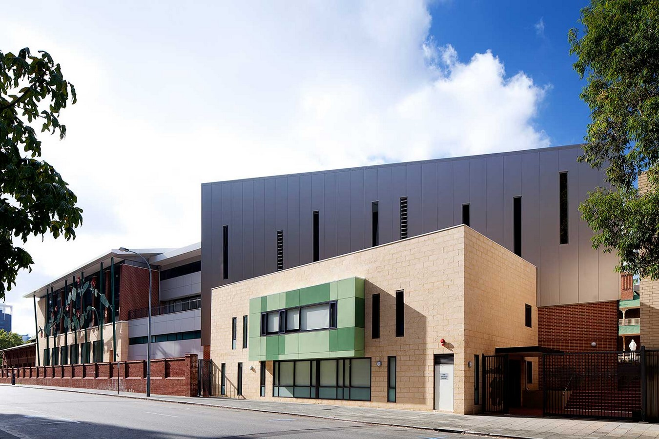 Mercedes College: Serisier Building and Coady Centre, Perth - Sheet1