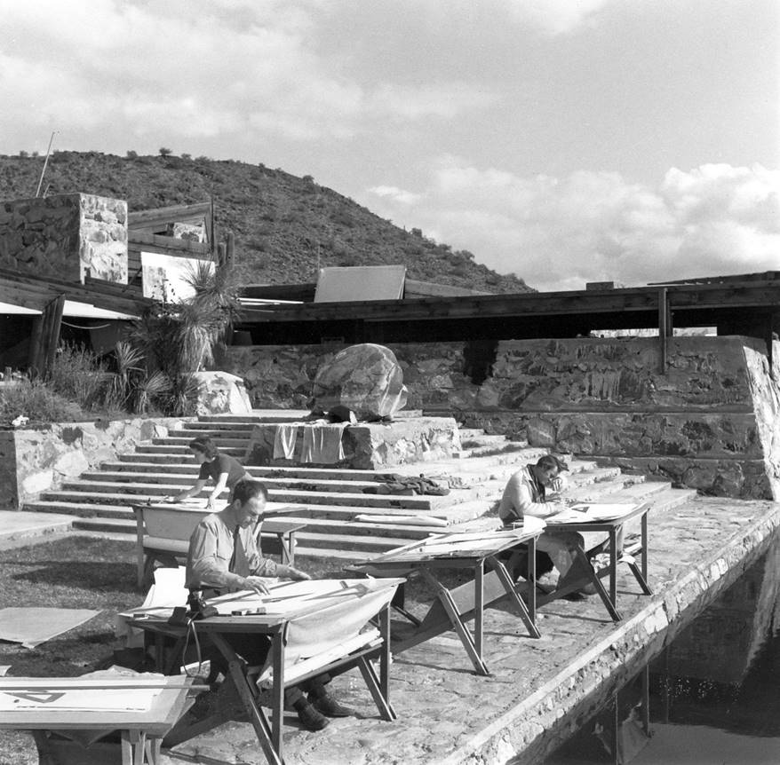 Frank Lloyd Wright's Architecture School fell into the hands of internal rift - Sheet5