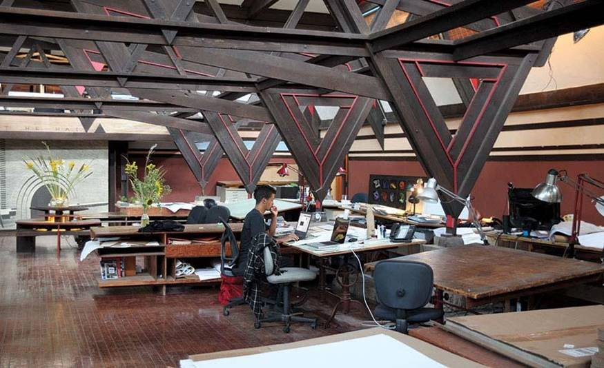 Frank Lloyd Wright's Architecture School fell into the hands of internal rift - Sheet6
