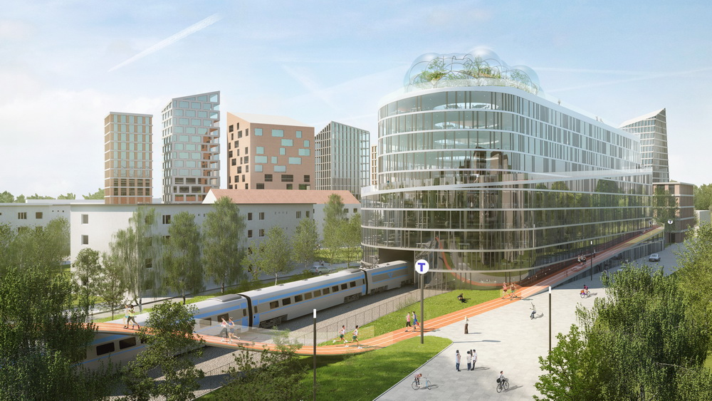 15 Innovative Conceptual Transit Oriented Designs around the world - Sheet48