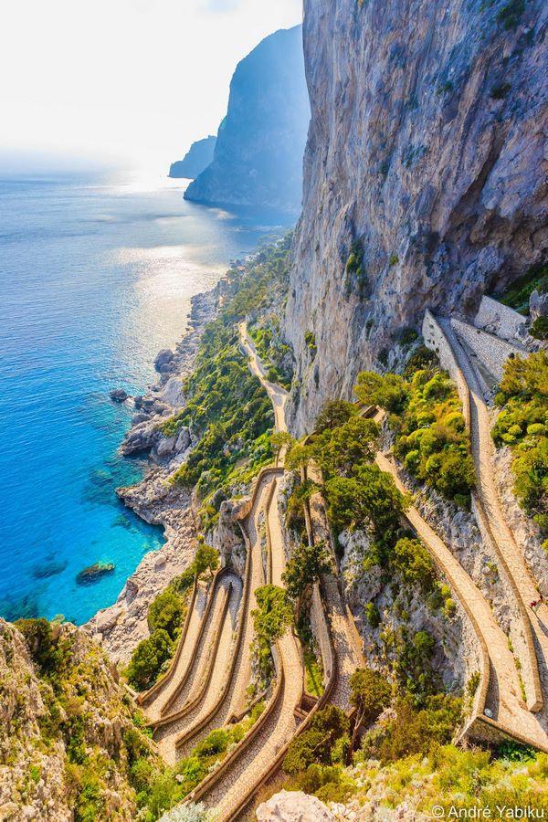 Via Krupp, Capri Island - sheet 2