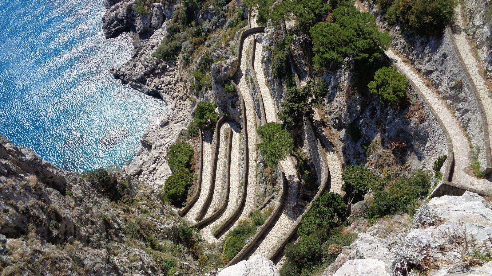 Via Krupp, Capri Island - sheet 3