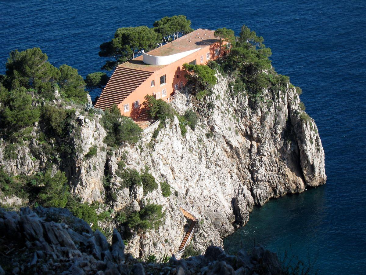 Villa Malaparte, Capri Island - sheet 1