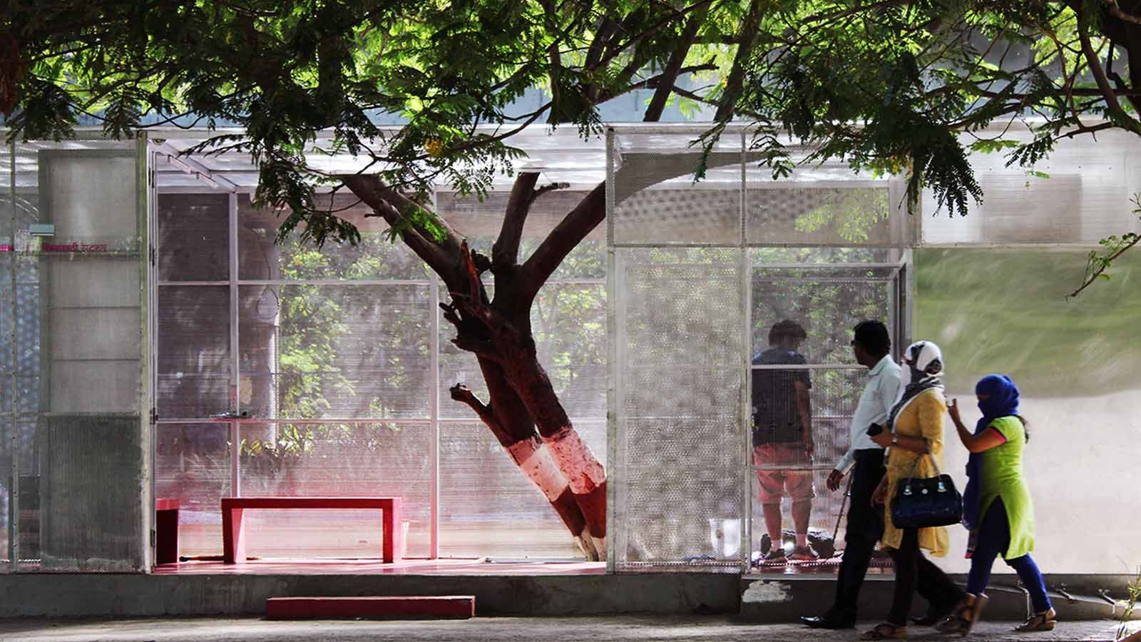 The Lightbox- restroom for women, Thane, RC Architects - Sheet4