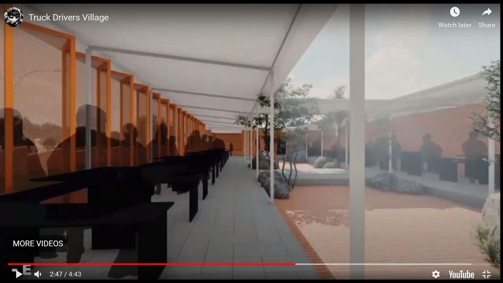 Truck Drivers Village, Chitradurga, RC Architects - Sheet2