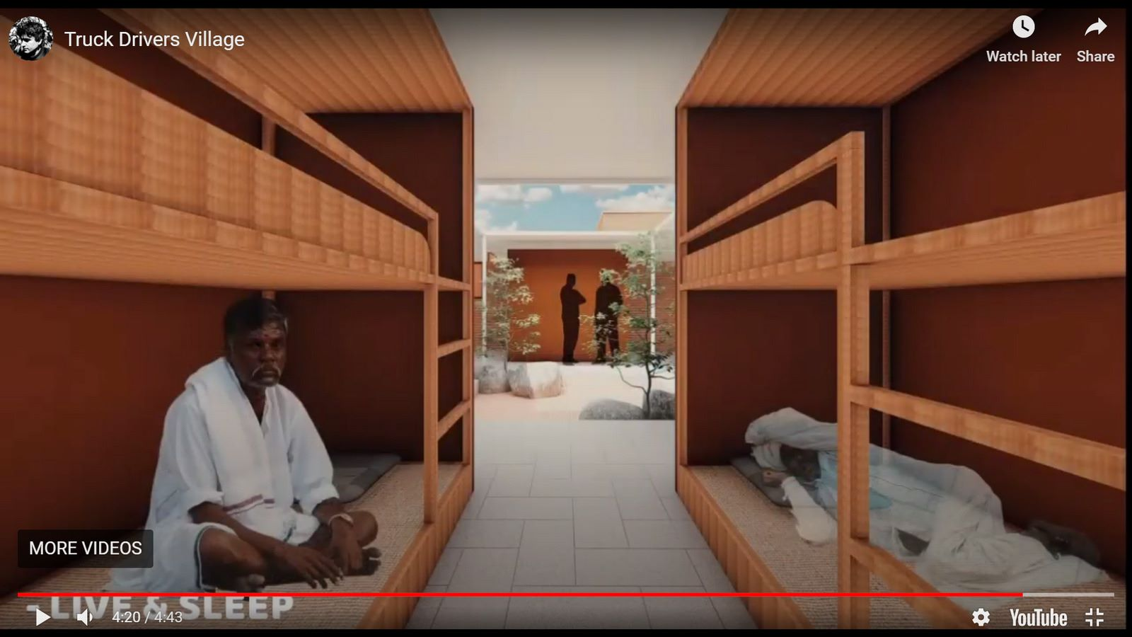 Truck Drivers Village, Chitradurga, RC Architects - Sheet6