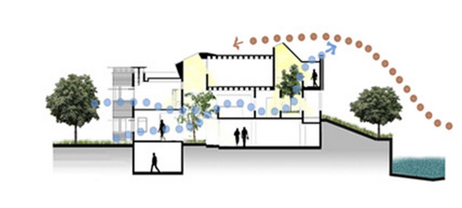 Climate responsive architecture in Indian cities - Solar Passive Hostel - Sheet6